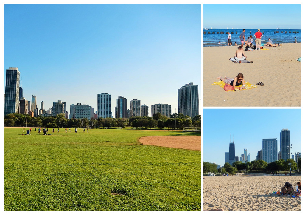 Chicago plage Lincoln park